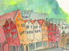 Bergen I by Victoria Burton-Davey.