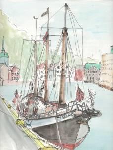 Bergen II by Victoria Burton-Davey.