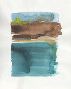 Fjord I by Victoria Burton-Davey