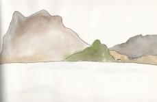 Fjord VI by Victoria Burton-Davey.