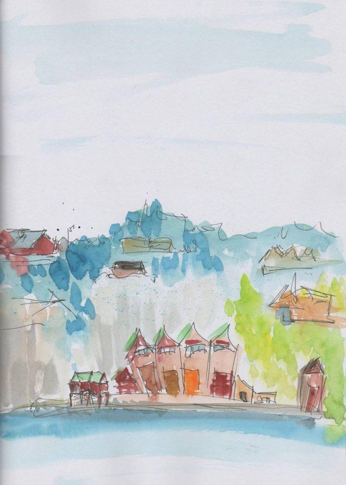 Fjord VII by Victoria Burton-Davey