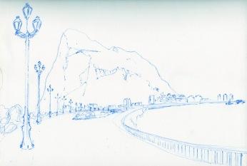 Gibraltar III by Victoria Burton-Davey